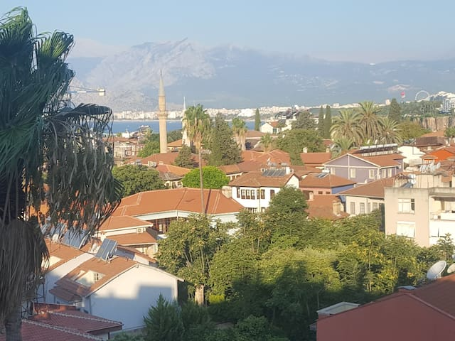 Antalya Center- Cozy double room- Panoramic views