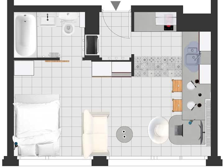 Studio meublé METZ Nouvelle Ville