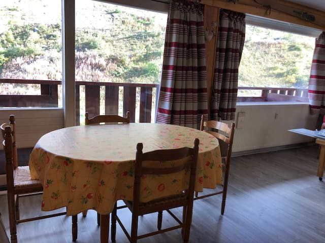 Ski in ski out large 28m²  studio 2-4 pax LAVACHET GC21
