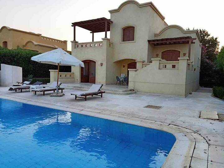 West Golf villa, El Gouna.