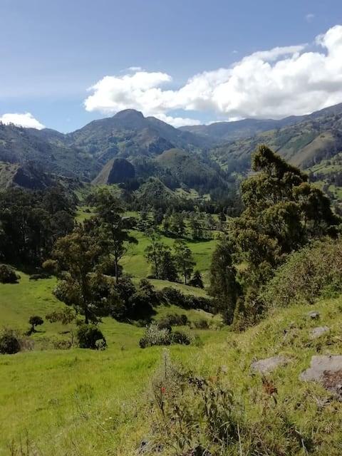 Refugio ecoturístico  el cocuy/ boyaca