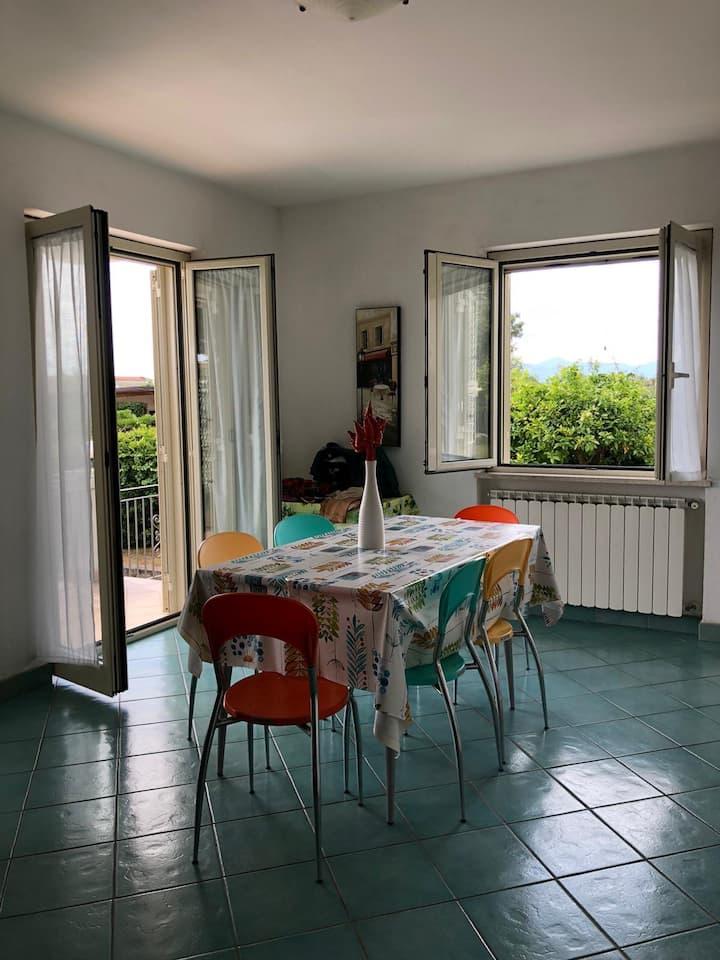 Casa a 50 metri dal mare Sperlonga, con giardino