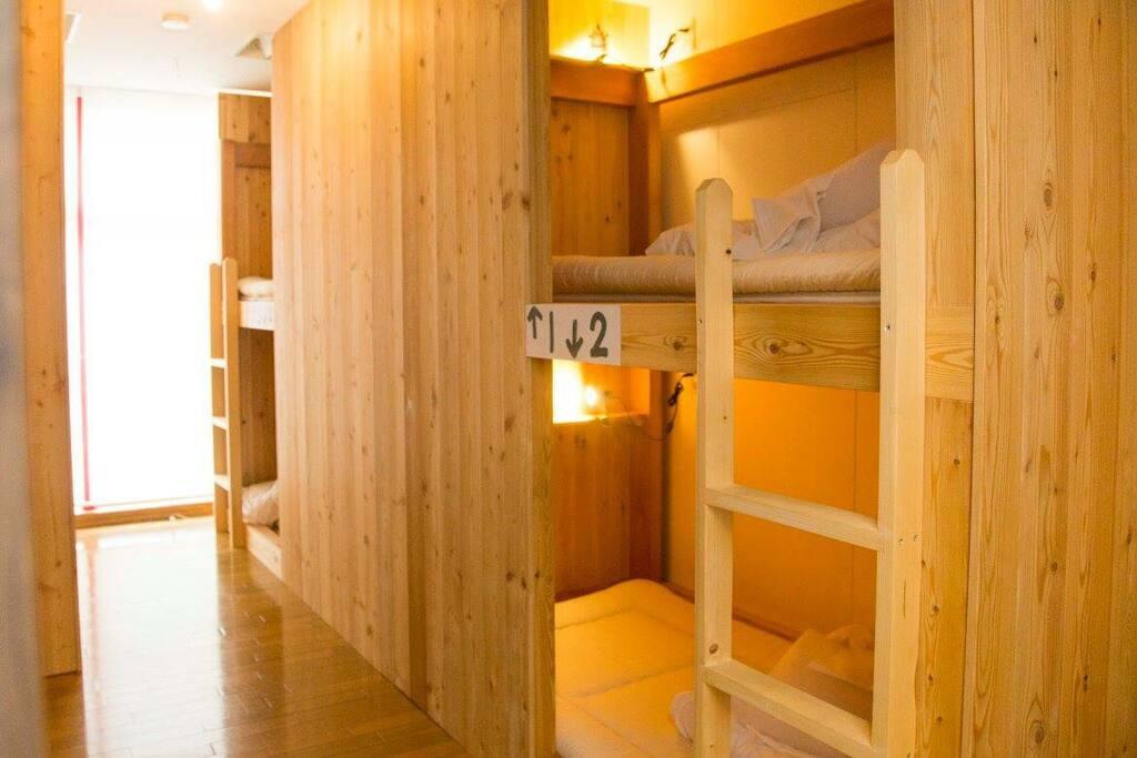 Female dorm room