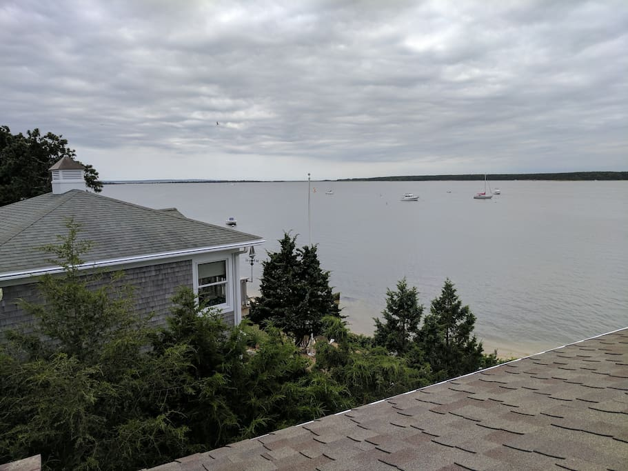 View of Martha's Vineyard from available roof top deck.