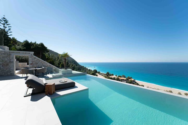 THE WAVE TWIN 2 INFINITY VILLA KATHISMA LEFKADA