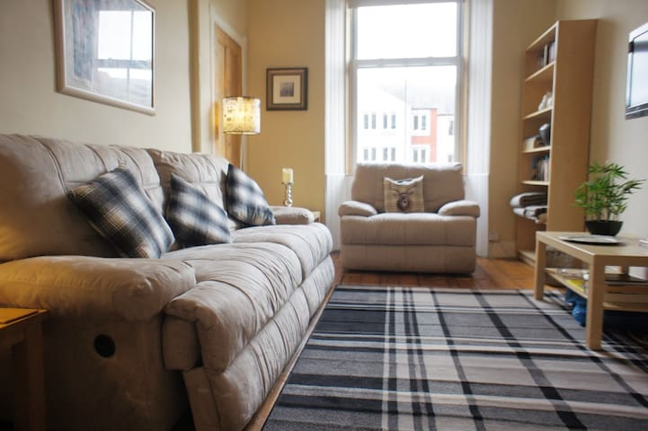 Beautiful and cosy family apartment in Edinburgh