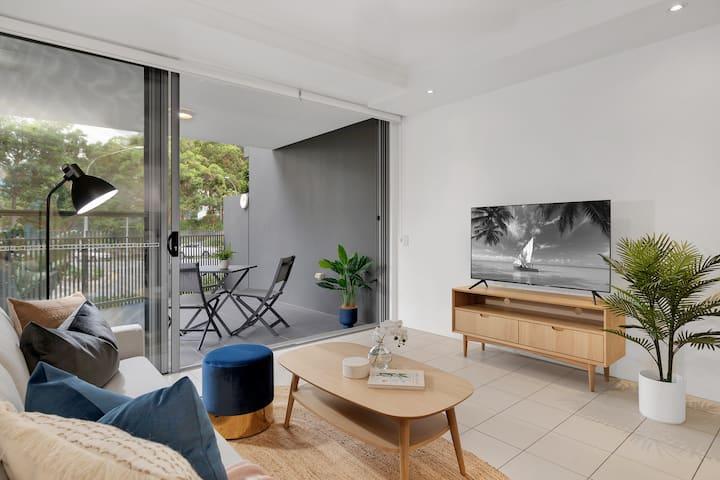 Resort style 2 bedroom apartment in Kelvin Grove