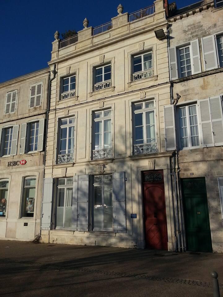 Immeuble classé Place de verdun