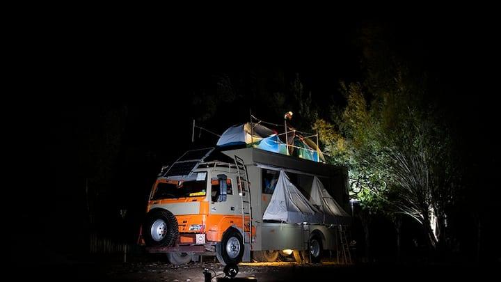 Caravan Campervan Camping - Jhatingri, Himachal
