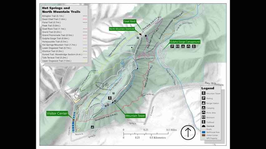 Some trail maps