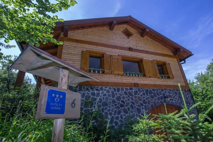 Holiday home rental Gorski kotar, Zakrajc Brodski - Zakrajc Brodski - Dom
