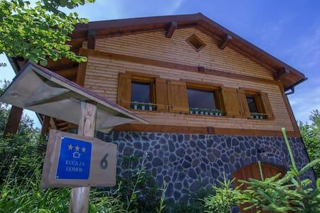Holiday home rental Gorski kotar, Zakrajc Brodski - Dům