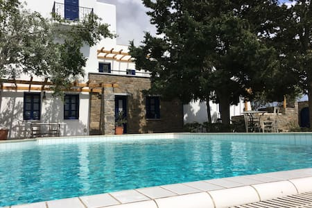 Vila with unique garden and swimming pool - Paros