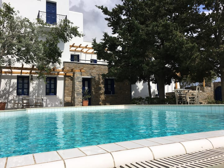 Vila with unique garden and swimming pool