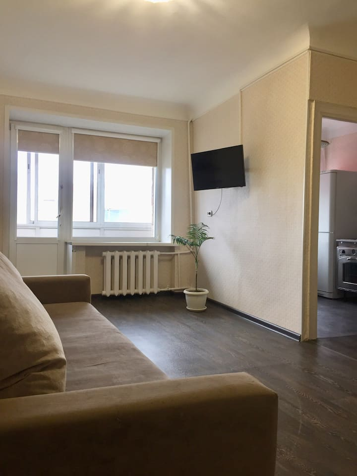 2-комнатная квартира в самом Центре Красноярска.