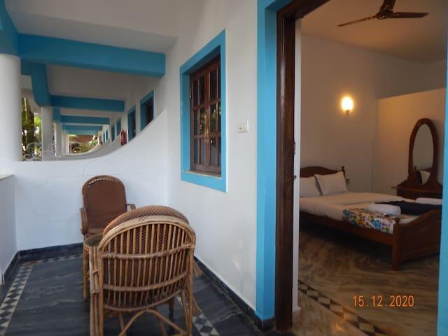 Birdsong, Anjuna- Standard Room-4 Garden View