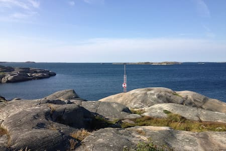 Cozy cottage by the sea/nature and 15 min to city - Göteborg - Blockhütte