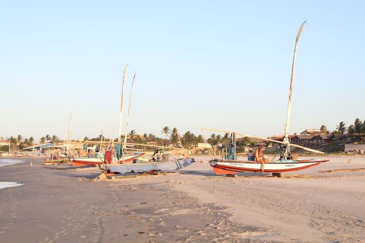 Pontal do Maceió beach,  5min from they house