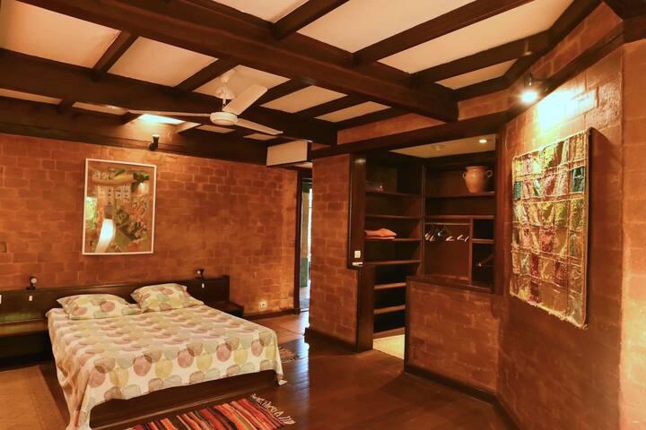 La chambre Terres de Guyane.
