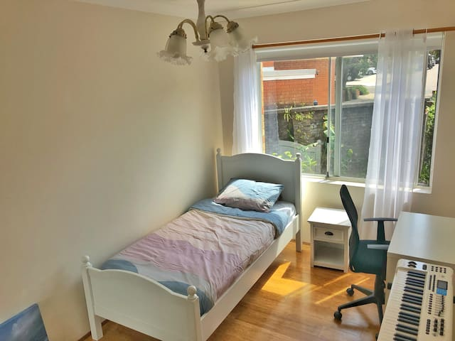 Lovely Bedroom in Artist's Home.