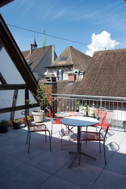 mysig lägenhet mitt i Feldkirch
