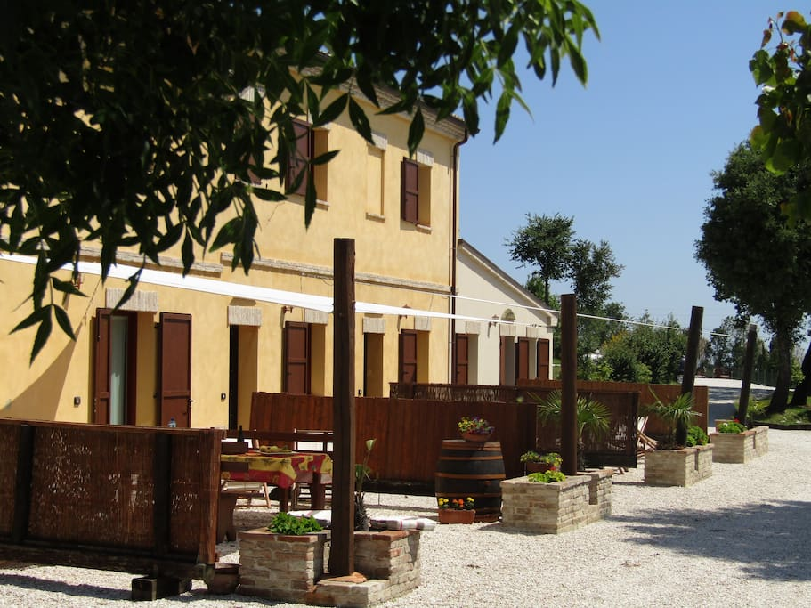 Fronte dell' Agriturismo