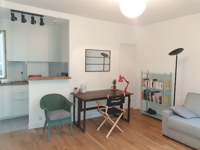 Bright studio renovated