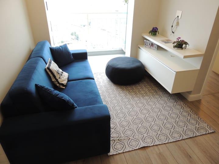 Barra Funda panorâmica - apartamento novo