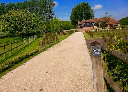 Luxurious accommodation with large private garden