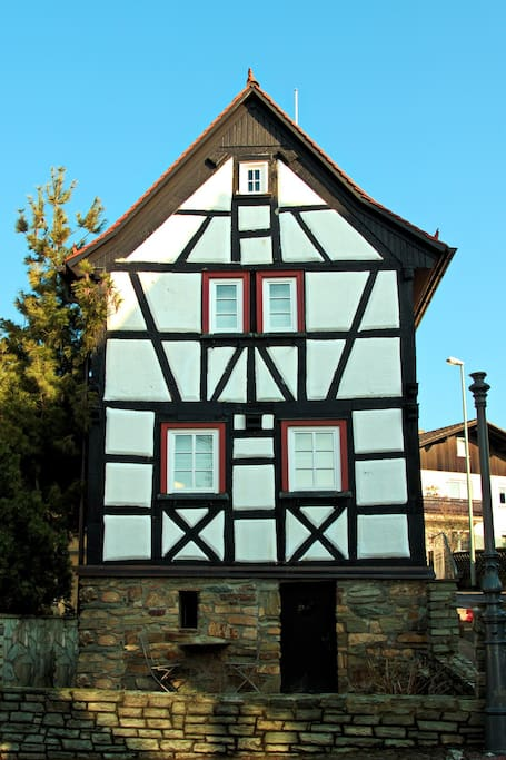 Beautiful home in the heart of a German village but very close to Frankfurt