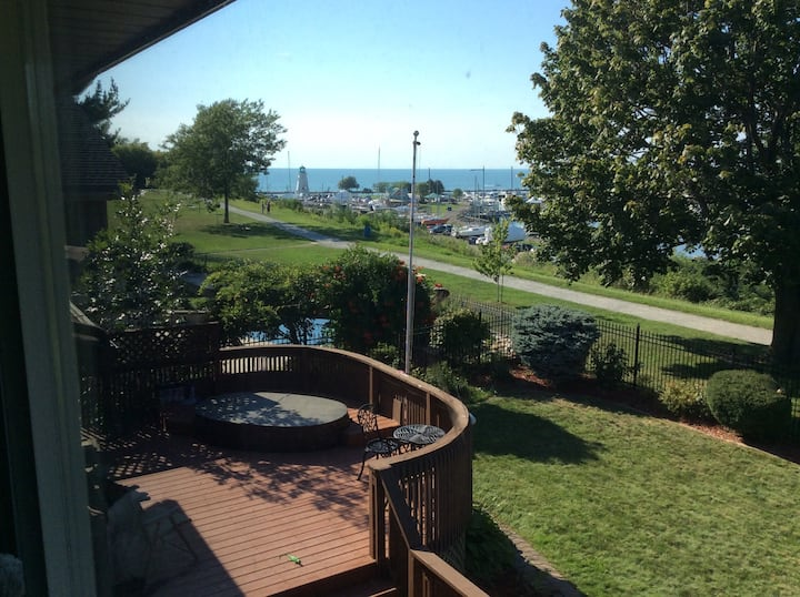 Port Dalhousie Marina and Lake view
