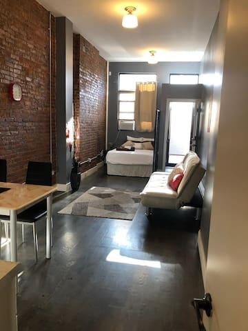 Bright New Brooklyn Studio