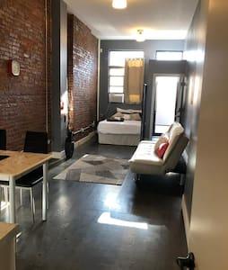 Bright New Brooklyn Studio