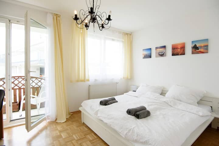 3 room Apartment with garage and balcony