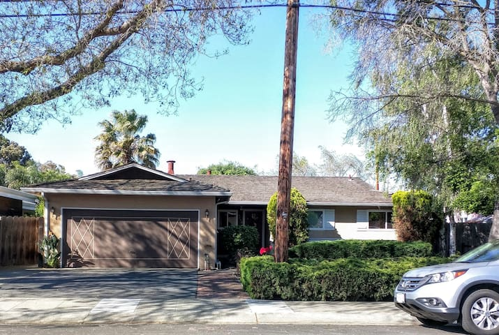 Cozy 4BR/2B House - Midtown Palo Alto - Palo Alto - Casa