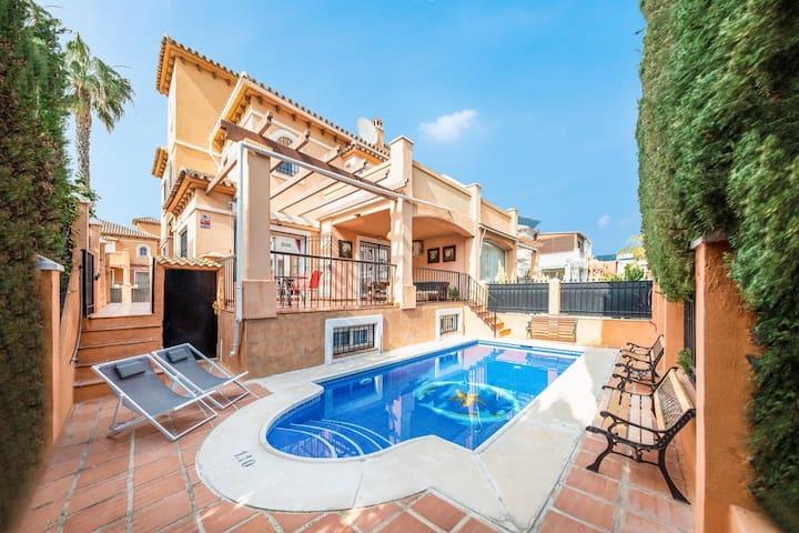 iloftmalaga Villa los Alamos
