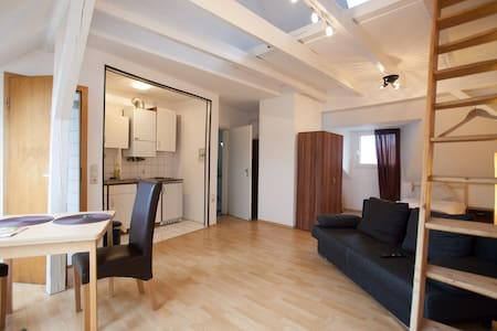 Sunny studio in Bochum-Central - Bochum - Apartment