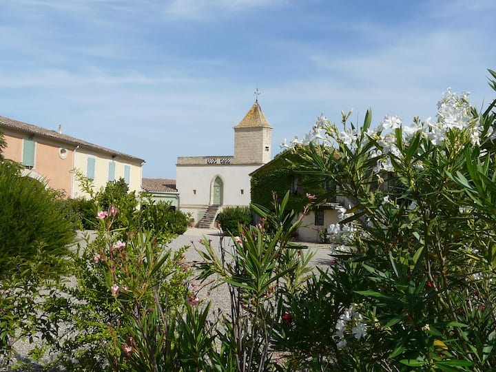 Charming gite in Wine Estate with Pool (A)