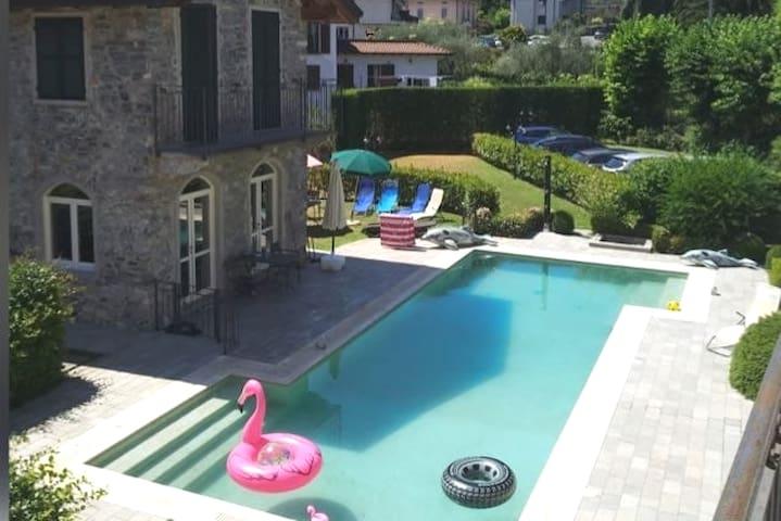 Casa Bellagio Beach, with pool & 100m to the beach