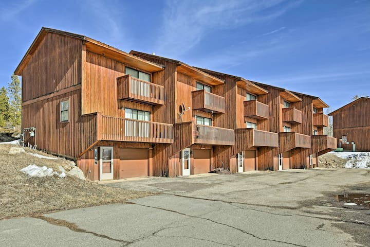 The townhome is located in the Soda Springs Condominiums.