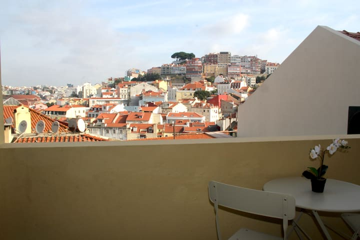 Charming city view apartment on the Castle hill B