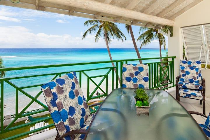 Beachfront Condo on South Coast of Barbados