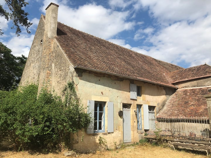 Petite maison en Bourgogne