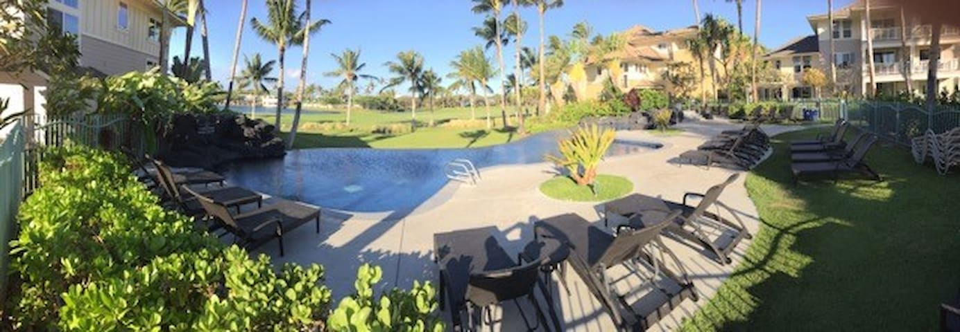 Waikoloa Beach - Fairway Villas C2 - Waikoloa Village - Condominio