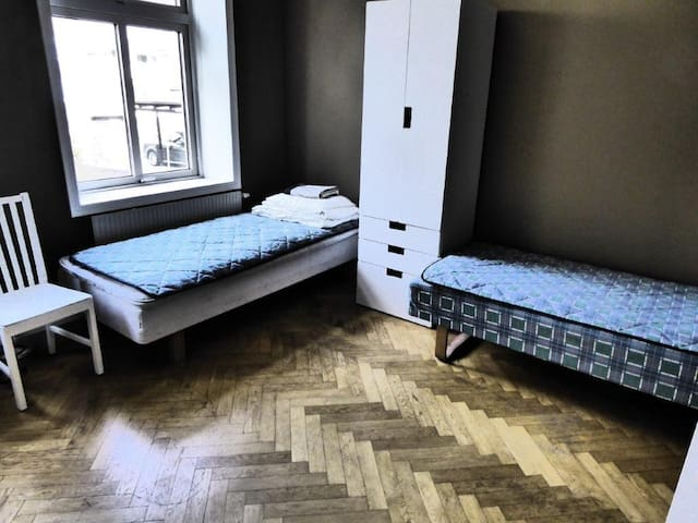 Really cheap bed - close to Copenhagen - Landskrona - Apartment