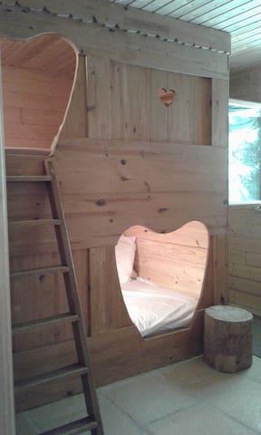 chambre 2 lits de Berger superposé 140x190cm