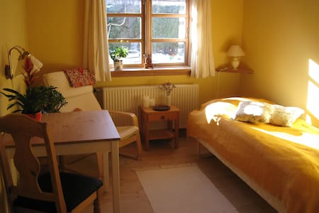 Vegetarian Retreat, in wooden house - Room nr. 2