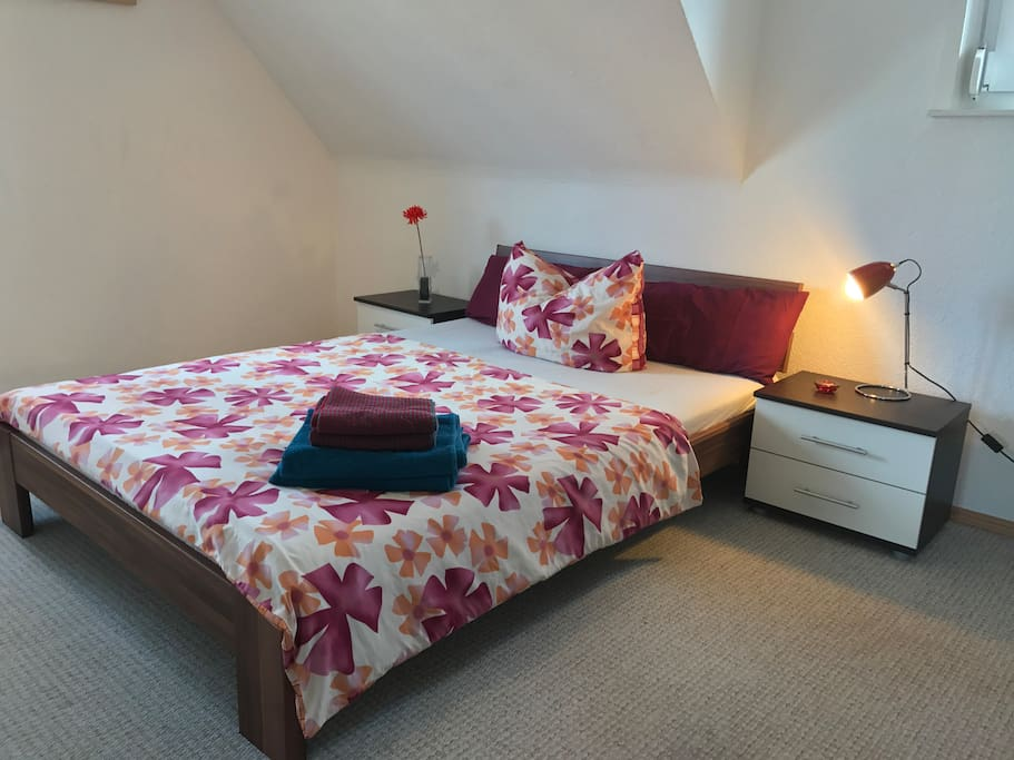 room #2 bed 1,40x2,00m