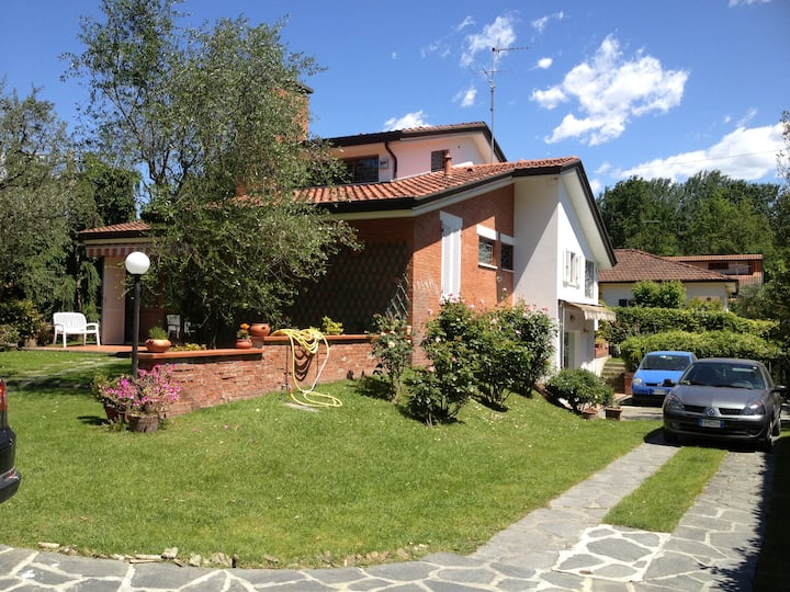 Villa Ronchi Toscana al mare Versilia