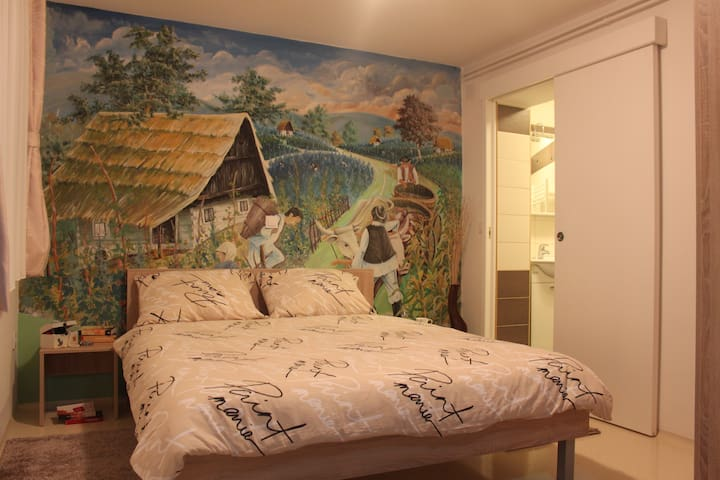 Family-friendly studio apartment A2 - Bedekovčina - Pis